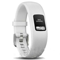 Garmin vivofit 4 Fitness Activity Tracker, White (S/M)