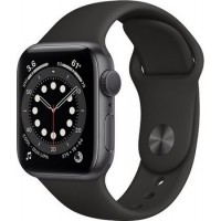 Apple Watch Series 6 40mm Space Gray Alu Black Sport